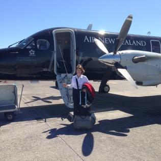 Departing Auckland for Whakatane